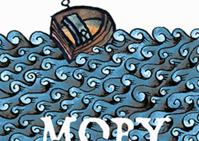 Moby Dick poster © Tom Greder