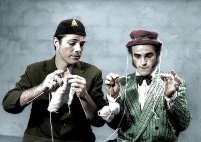 Oskar & Strudel. Photo: J. McCormick